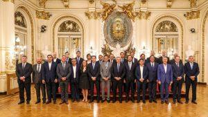 Mandatarios provinciales consideraron fundamental el acuerdo alcanzado por la deuda externa