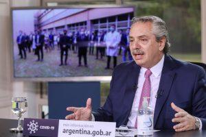 """Fernández reafirmó que, para su Gobierno, """"la salud pública está sobre todas las cosas»"""