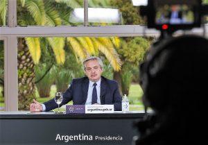 Fernández defendió lo hecho  para enfrentar la pandemia y valoró el acuerdo sellado con los bonistas