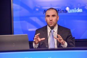 «Es la plataforma de despegue de la economía» argentina, afirmó Guzmán acerca del acuerdo