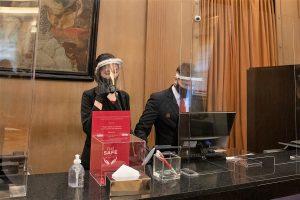 Cómo es el protocolo en los hoteles de la Ciudad en su reapertura