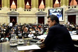 Massa apuntó contra la oposición por no querer debatir de forma virtual la reforma judicial