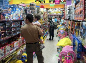 Las ventas del Día del Niño cayeron 20,8% en términos interanuales