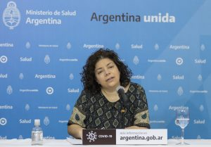 Vizzotti advirtió que Argentina está atravesando «una semana clave»