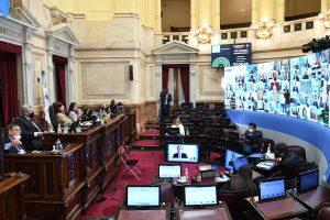 Otra sesión polémica en el Senado, con el abandono de Juntos por el Cambio