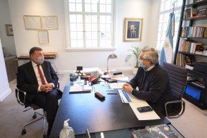 Agenda del Congreso y el impacto del Covid-19 en Córdoba, los ejes de la reunión de Fernández con Caserio