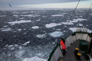 Advierten que el Ártico está en declive: mínimo histórico de hielo marino