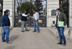 Traspaso: la Municipalidad tomó posesión del Zoológico