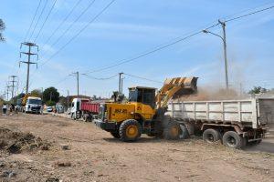 Se retiraron 400.000 kilogramos de residuos de un macro basural en barrio El Quebracho
