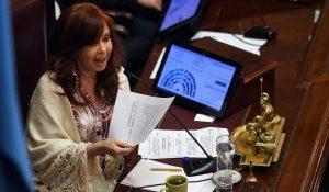 CFK afirmó que los jueces van a «garantizar la impunidad» de Macri