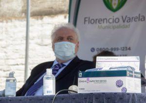 Desde territorio bonaerense, Salud de Nación presentó el test de antígenos que detecta el coronavirus en 20 minutos