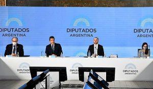 Presupuesto 2021: por la «sarasa» de Guzmán, diputados radicales salieron con los tapones de punta