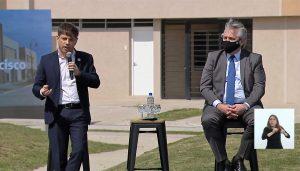 Procrear: junto a Fernández, Kicillof dijo que «hoy los créditos se ajustan por el salario, no por la timba de los poderosos»