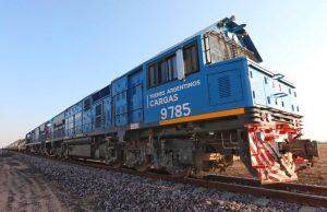 El transporte ferroviario de cargas tuvo un crecimiento del 24%