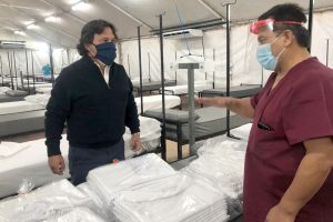 Desde este lunes, se habilitan 60 nuevas camas con oxígeno en el San Bernardo