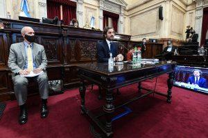 Cafiero criticó a la oposición y aseguró que el Gobierno está cumpliendo con el «contrato electoral»
