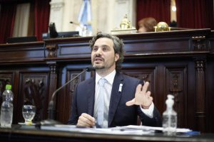 Cafiero rechazó que el Gobierno tenga relación con las tomas de tierras