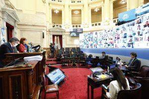 Senado: el Frente de Todos aprobó el proyecto que baja la coparticipación de la Ciudad de Buenos Aires