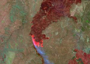 CONAE activó protocolos nacionales e internacionales ante los incendios en Córdoba