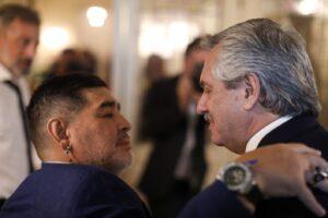 """Fernández: """"Diego era Argentina en el mundo y nunca le vamos a poder pagar tanta alegría"""""""