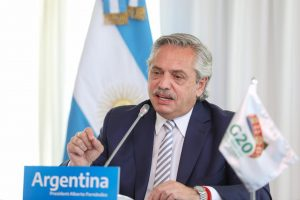 Ante el G20, Fernández pidió atacar la «desigualdad» para vivir en «un mundo más equilibrado»