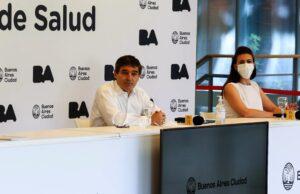 Desde el punto de vista sanitario, Quirós dijo que «no fue bueno» lo que pasó en el velatorio de Maradona