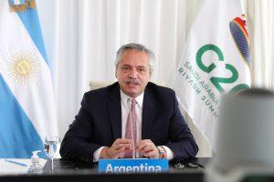 Fernández abogó por un «cambio estructural» de las economías que hoy favorecen la concentración del ingreso «en muy pocos»