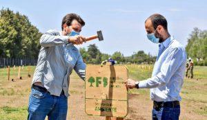 Tras los incendios, Córdoba  continúan con las acciones de forestación compensatoria